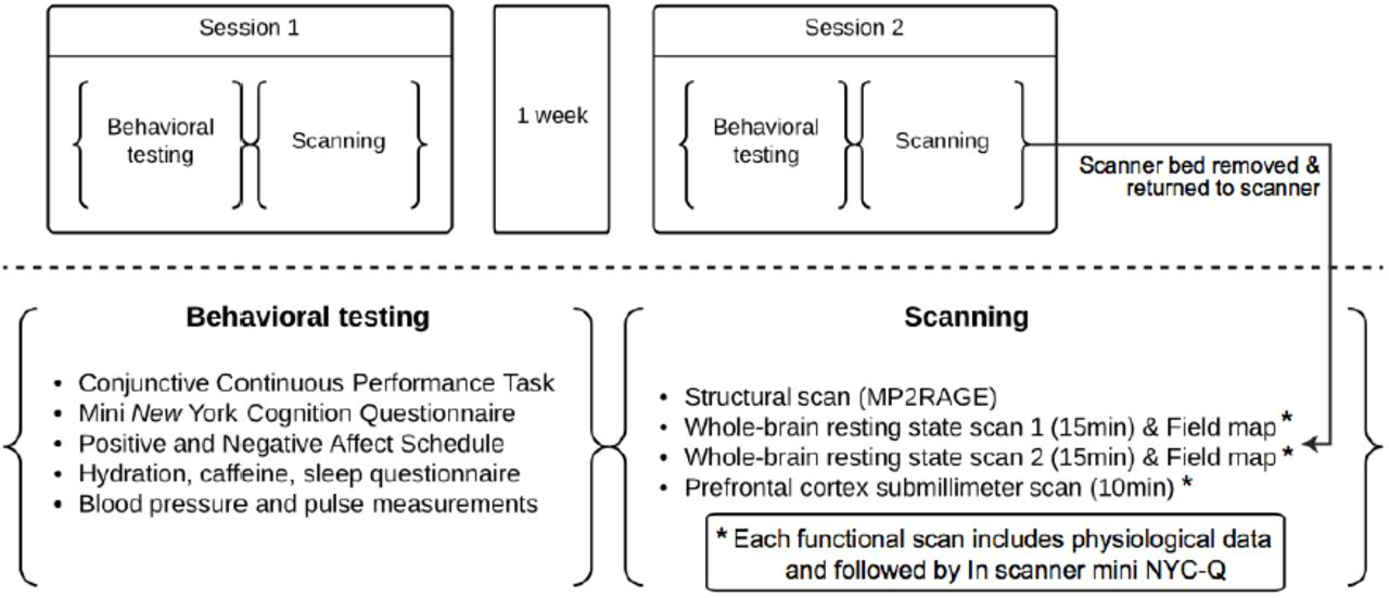 A high resolution 7-Tesla resting-state fMRI test-retest