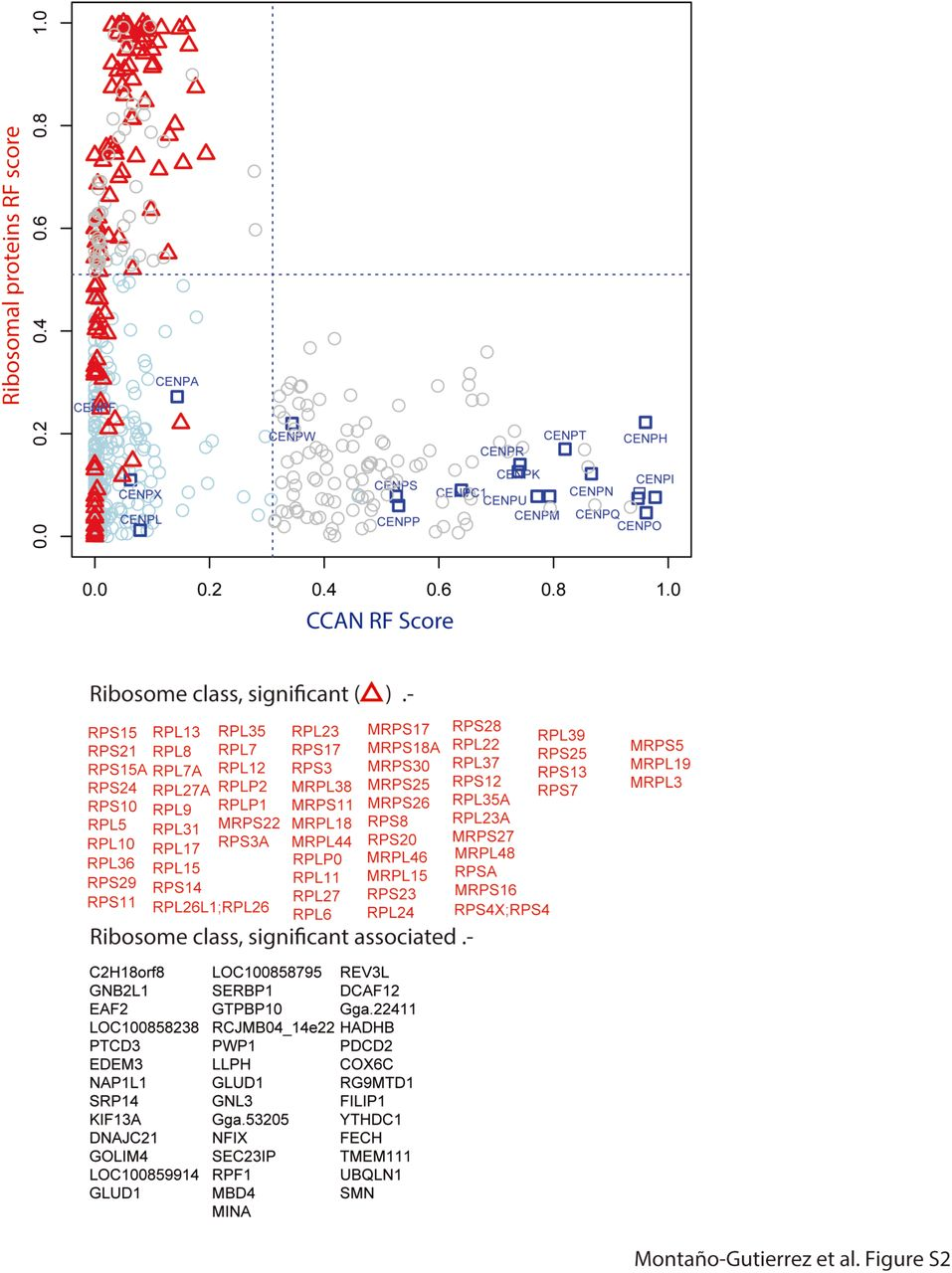 Nano Random Forests to mine protein complexes and their