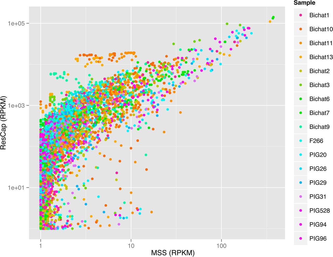 In-Depth Resistome Analysis by Targeted Metagenomics | bioRxiv