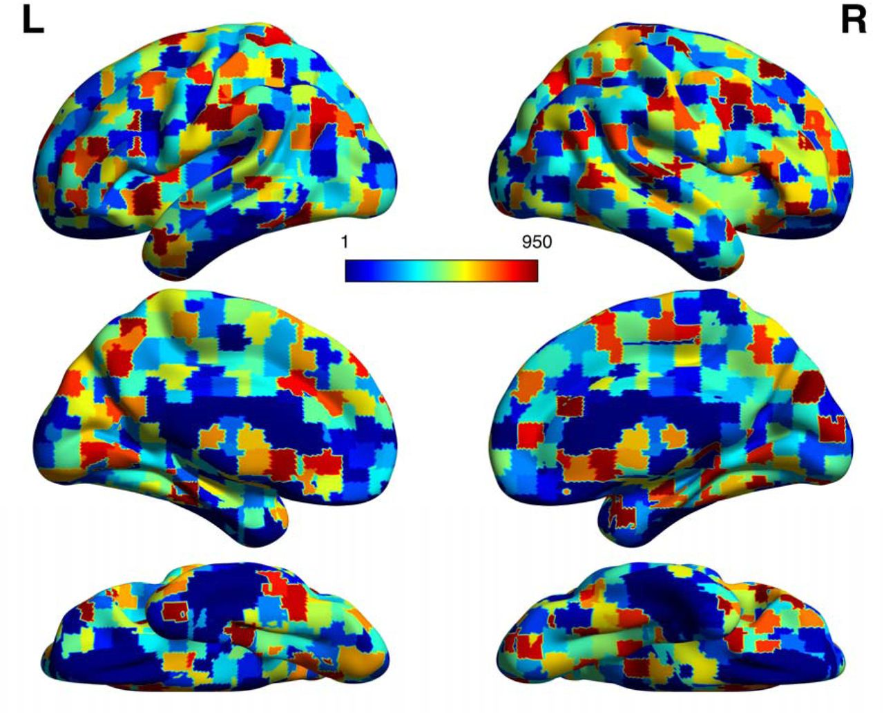 Data-Driven Extraction of a Nested Structure of Human Cognition