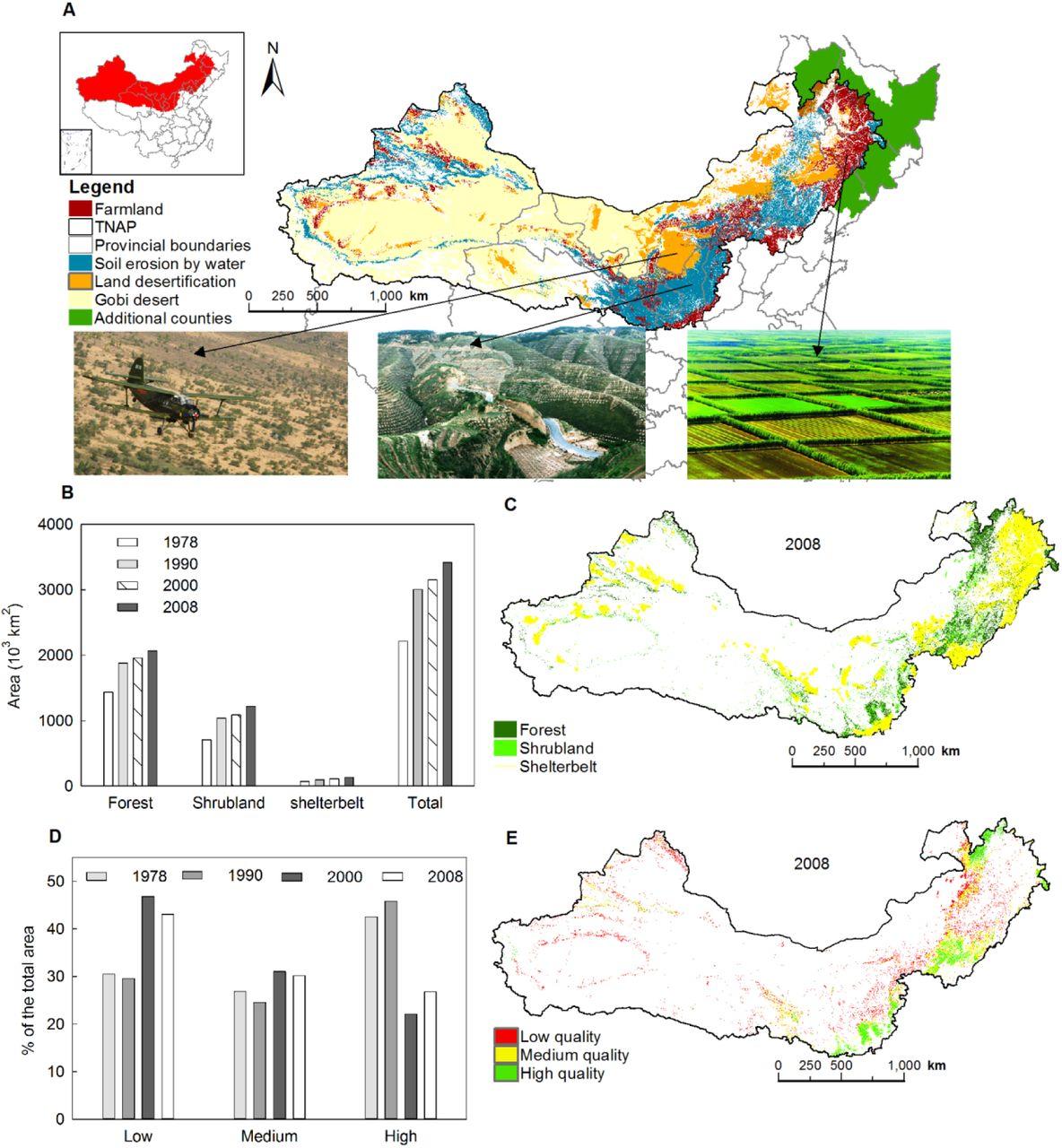 Assessment of the World Largest Afforestation Program ...