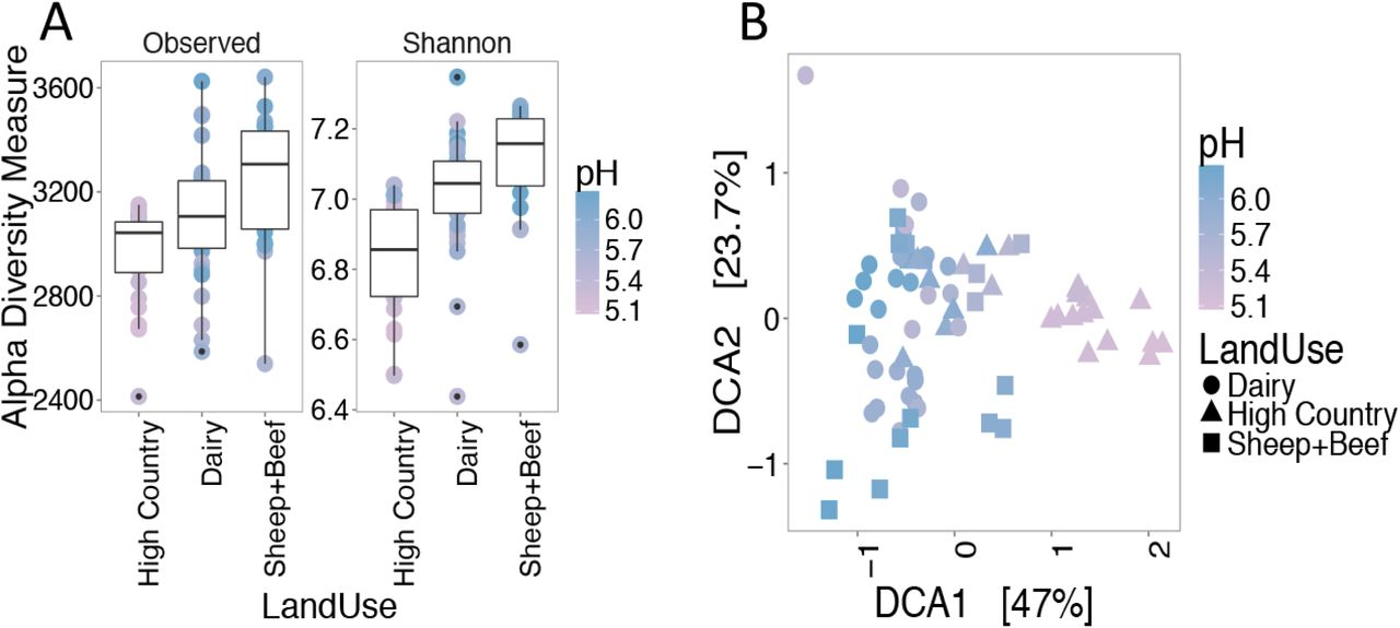 Soil classification predicts differences in prokaryotic
