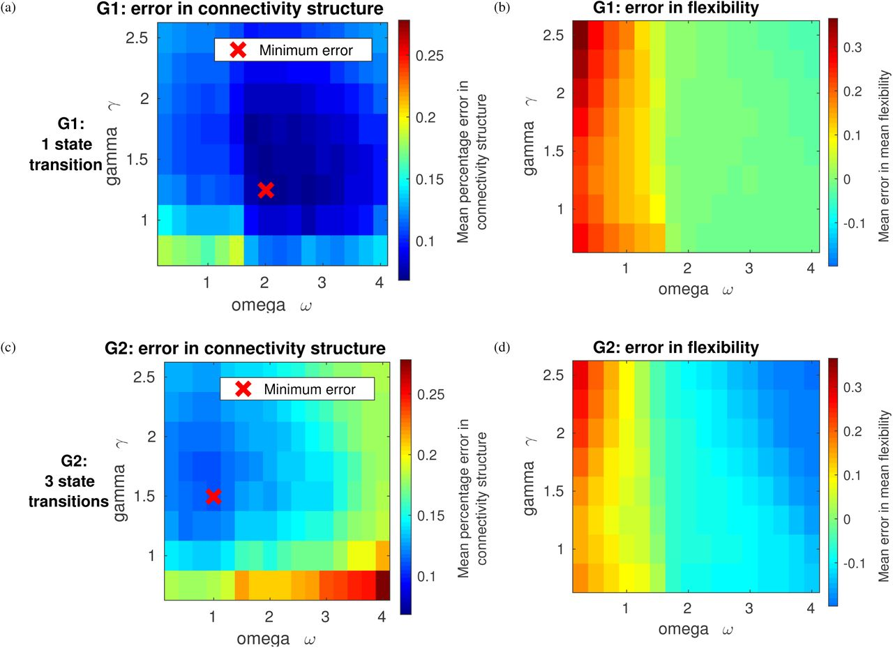Assessing dynamic functional connectivity in heterogeneous