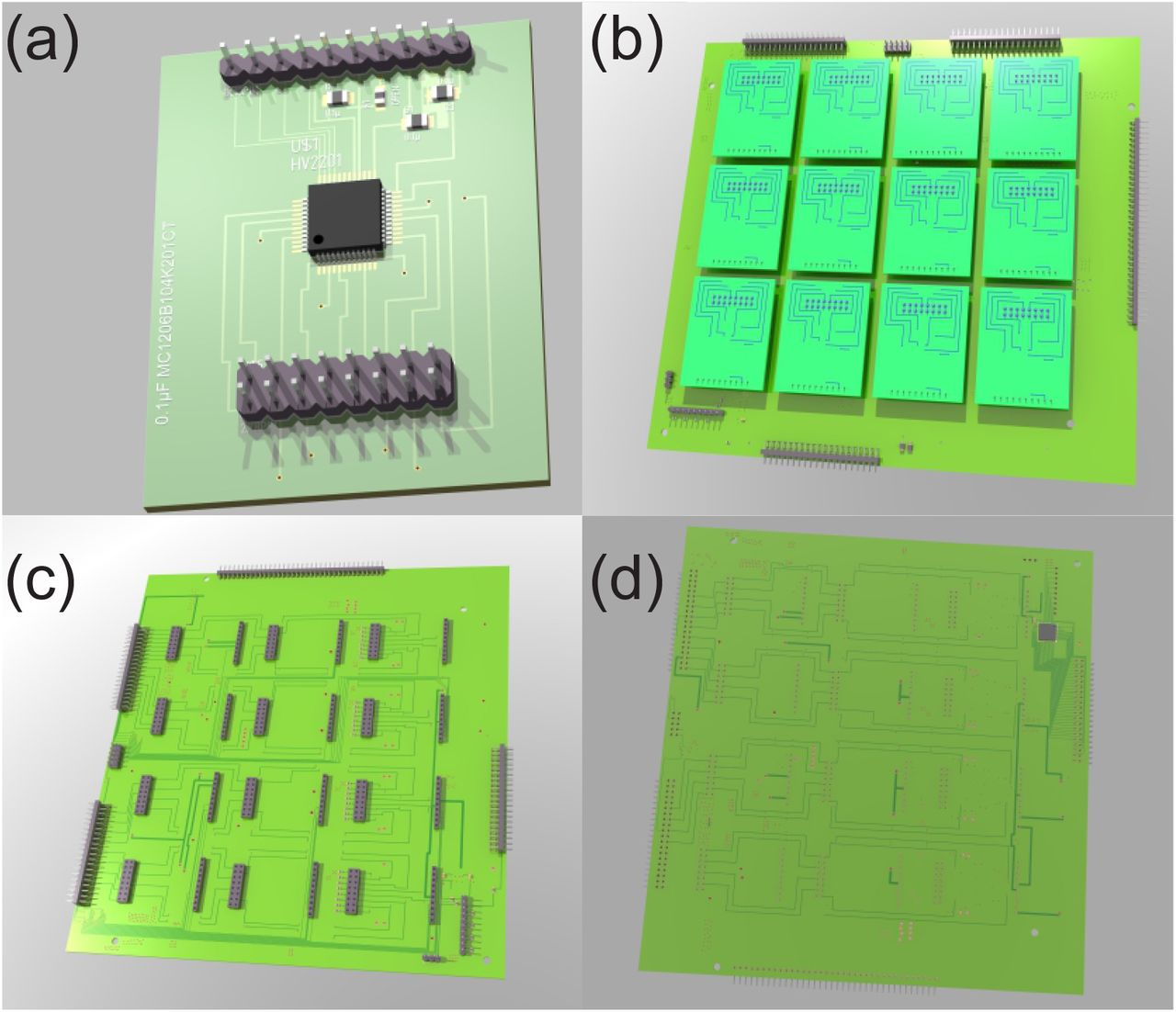 Open Hardware for neuro-prosthesis research: A study about a