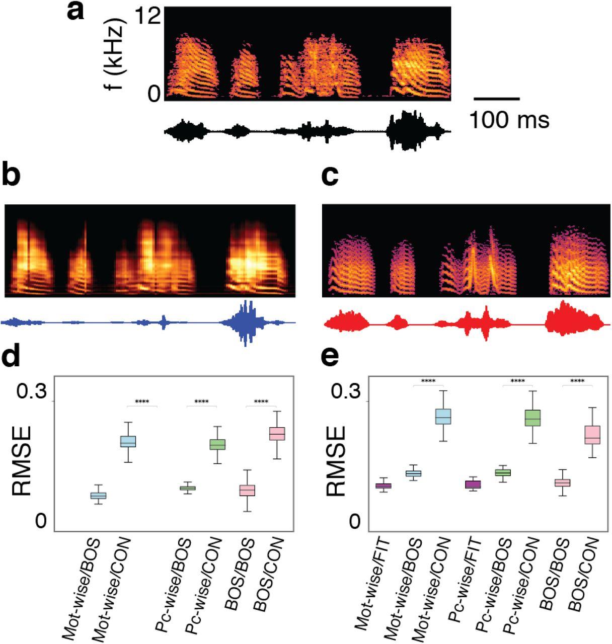 A neural decoder for learned vocal behavior   bioRxiv