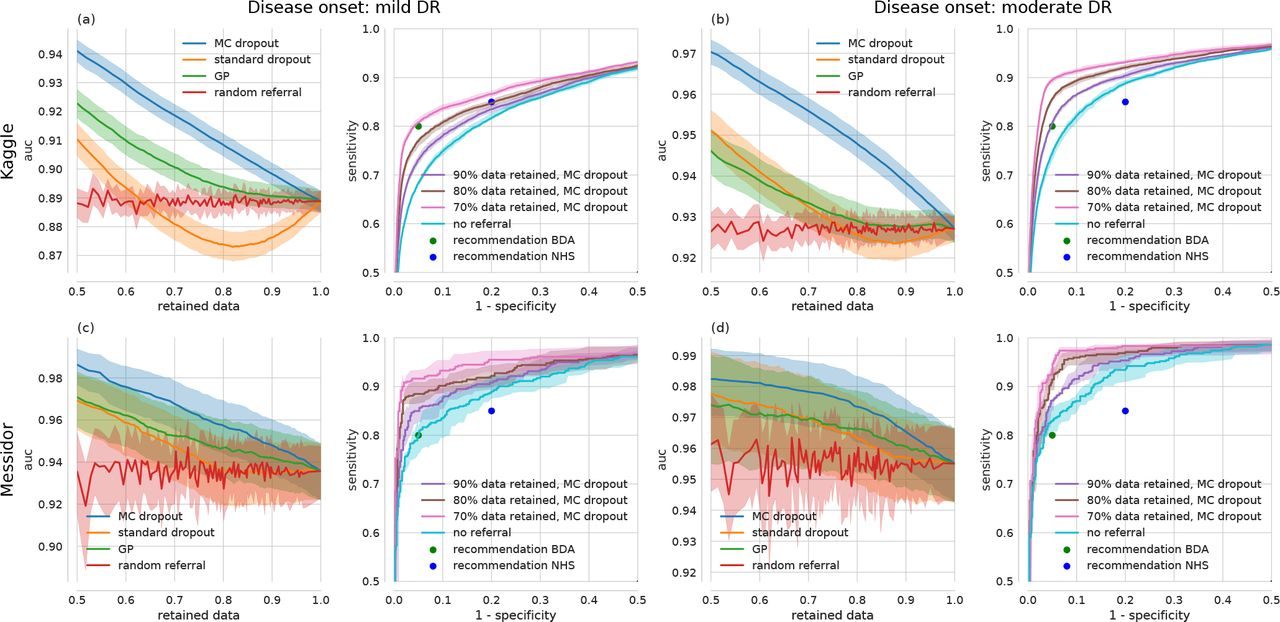 Leveraging uncertainty information from deep neural networks