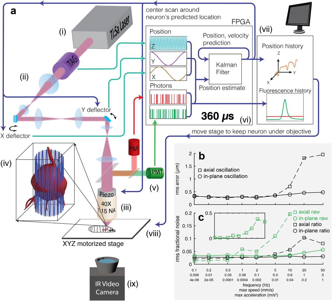 Recording neural activity in unrestrained animals with 3D tracking