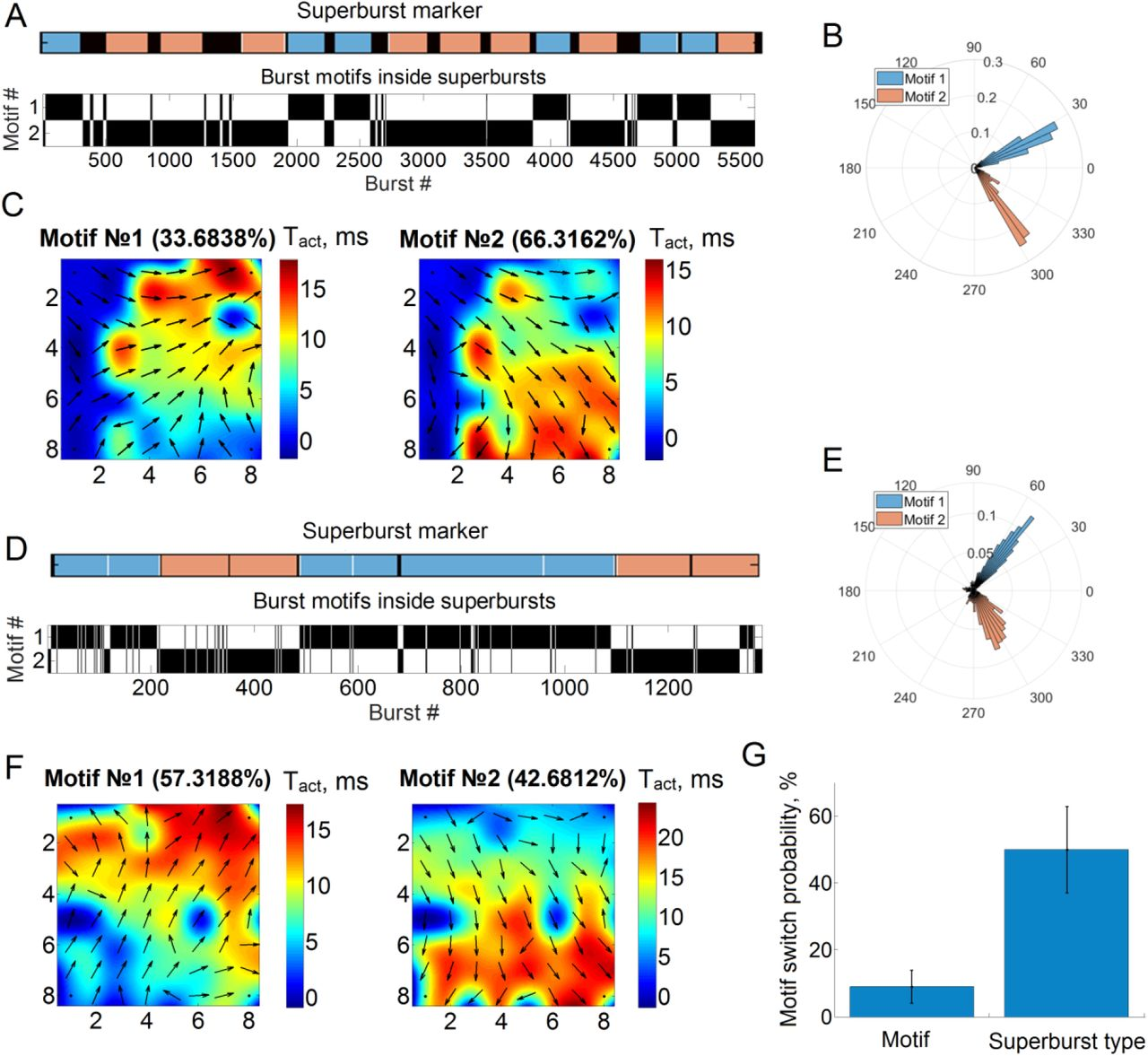 Bidirectional Cycling Dynamics of Living Neuronal Networks