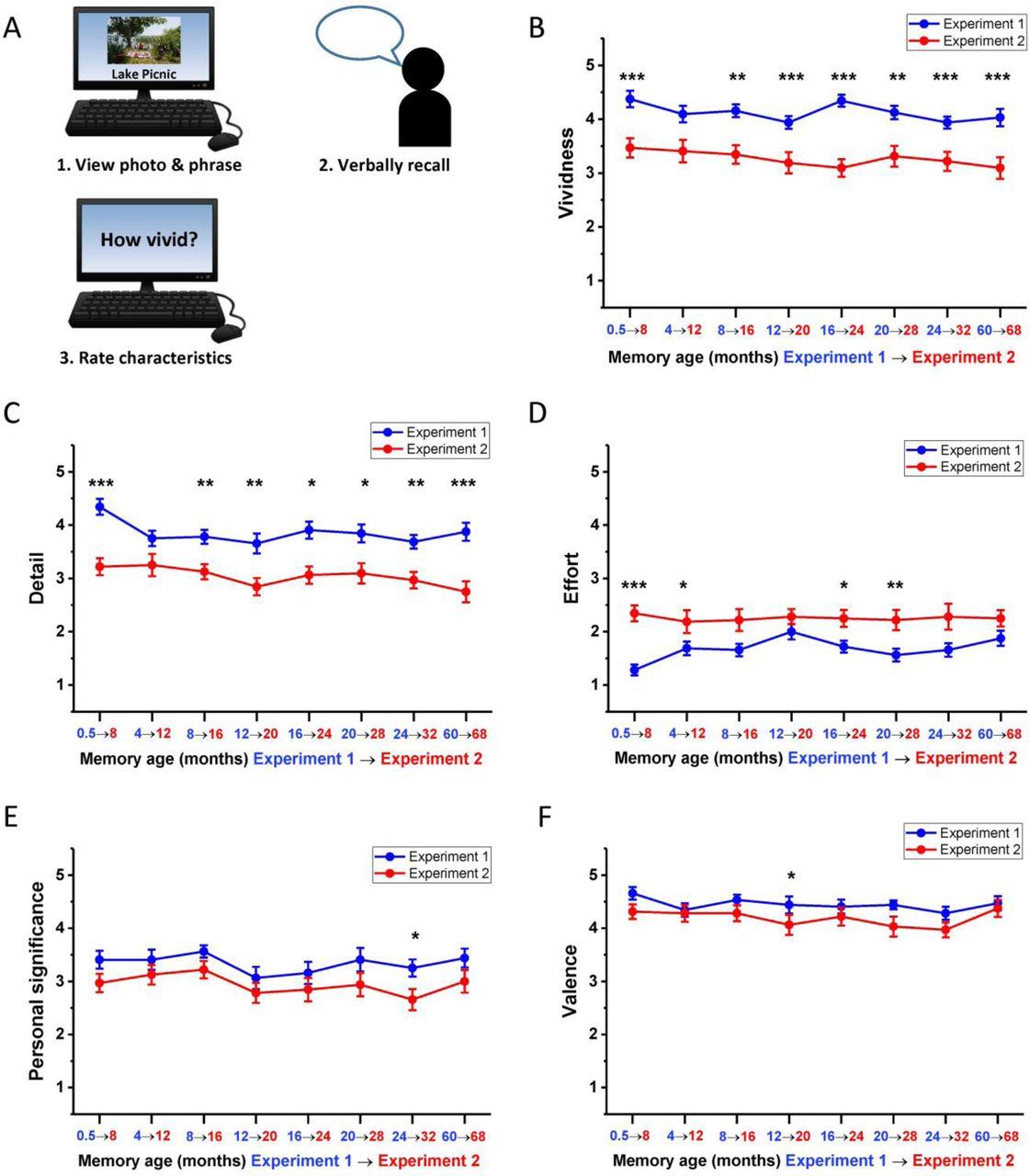 Ventromedial prefrontal cortex recruitment during memory