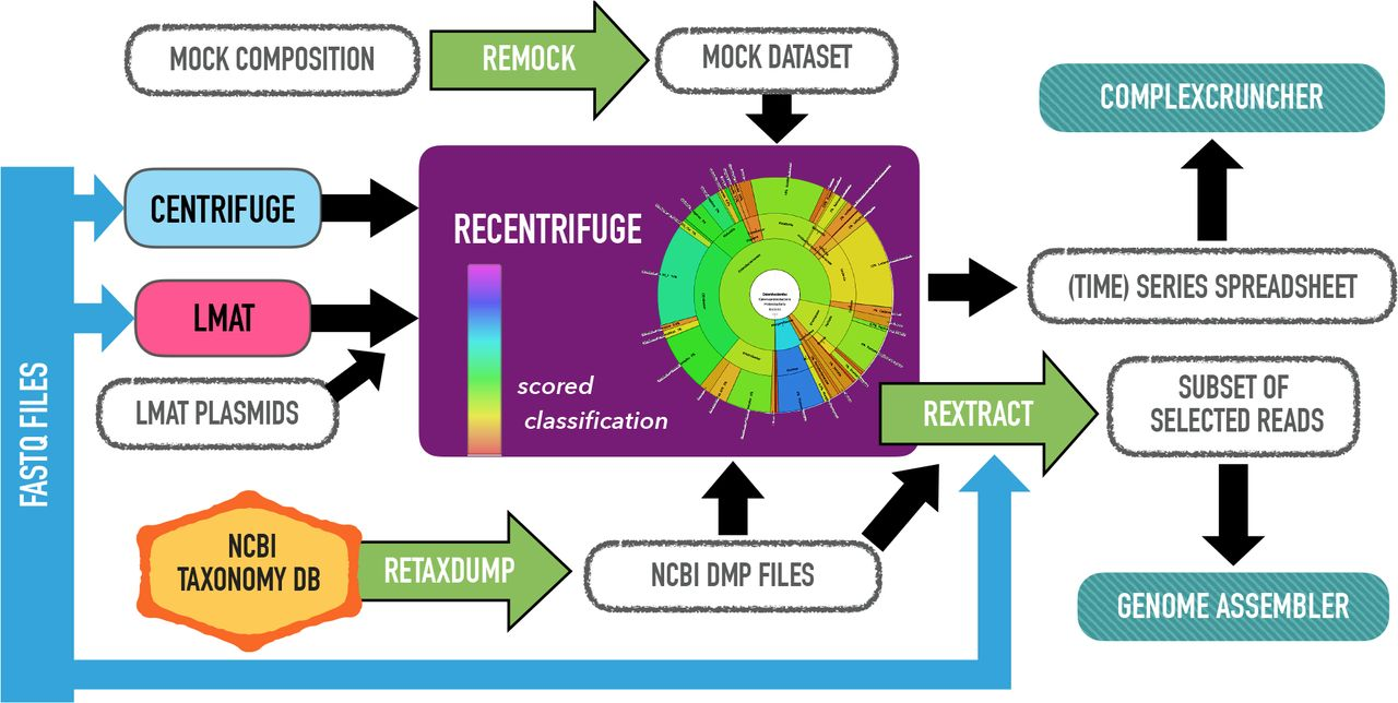 Recentrifuge: robust comparative analysis and contamination