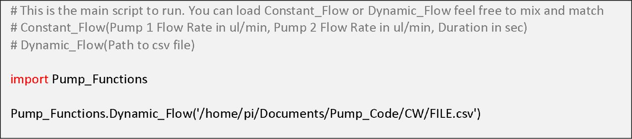 PiFlow: A Biocompatible Low-Cost Programmable Dynamic Flow Pumping