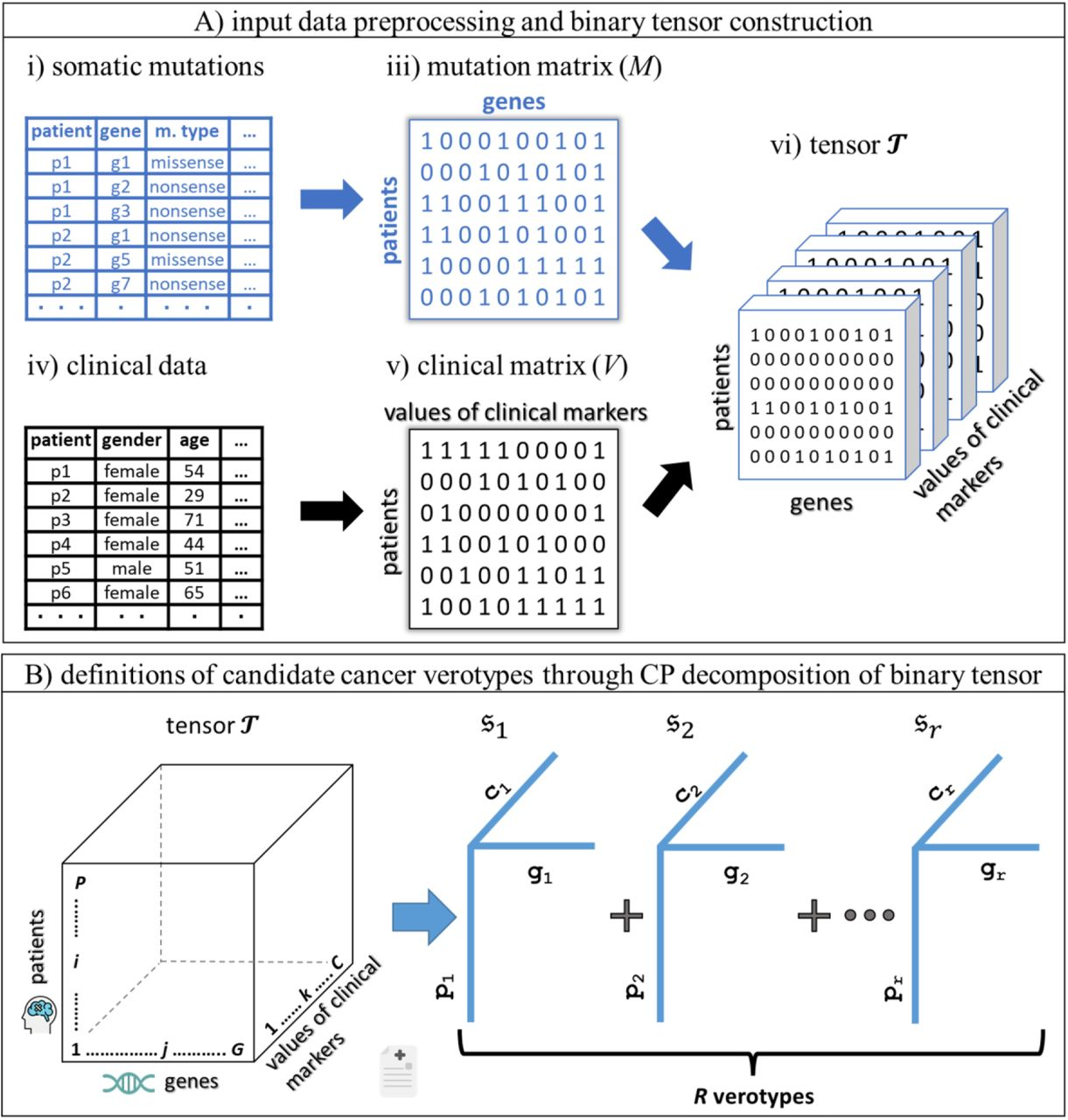 Computational Disease Subtyping based on Joint Analysis of