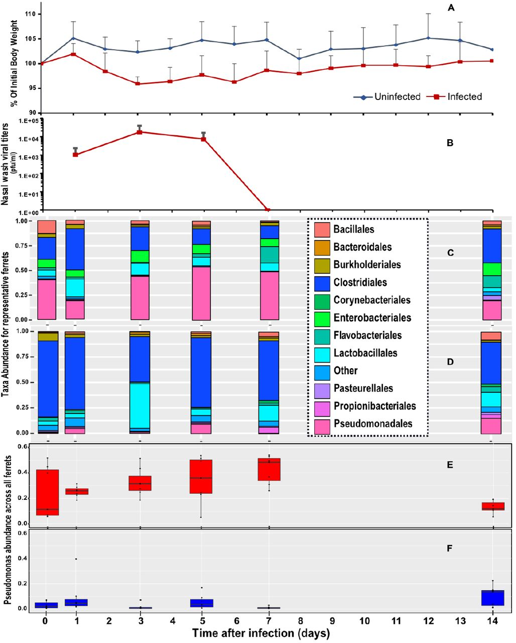 Microbiome disturbance and resilience dynamics of the upper