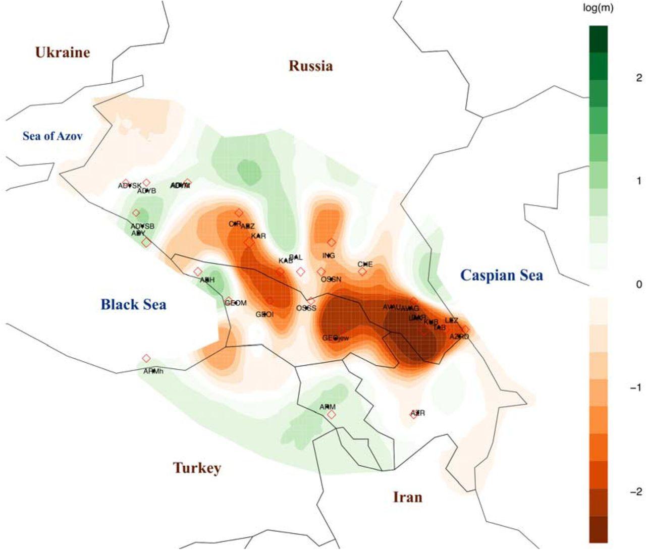 Characterizing the genetic history of admixture across inner Eurasia