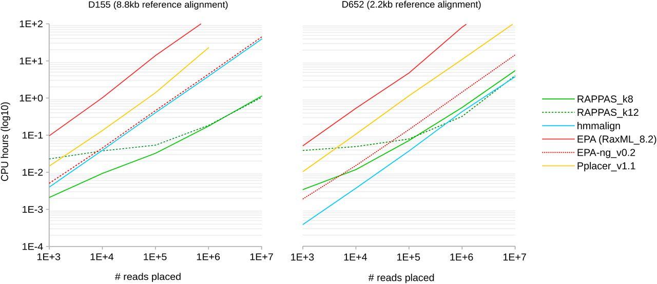 Rapid alignment-free phylogenetic identification of