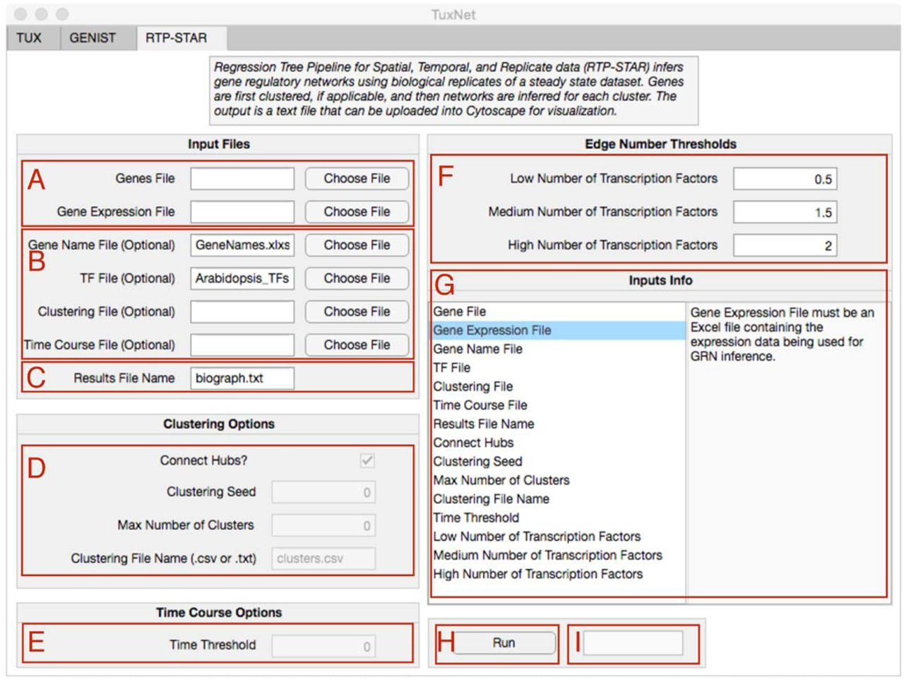 TuxNet: A simple interface to process RNA sequencing data and infer