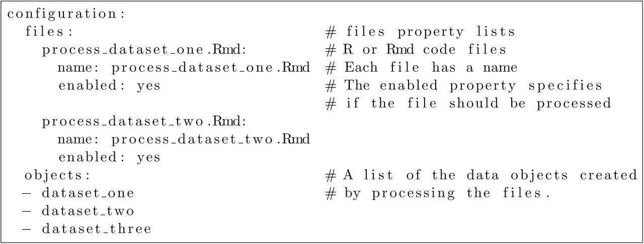 DataPackageR: Reproducible data preprocessing