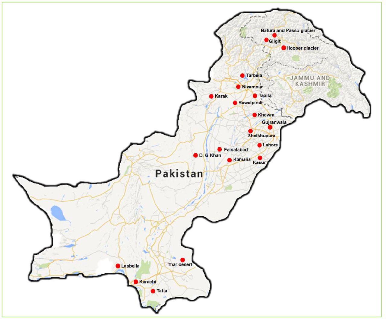 Prokaryotic Diversity from Extreme Environments of Pakistan