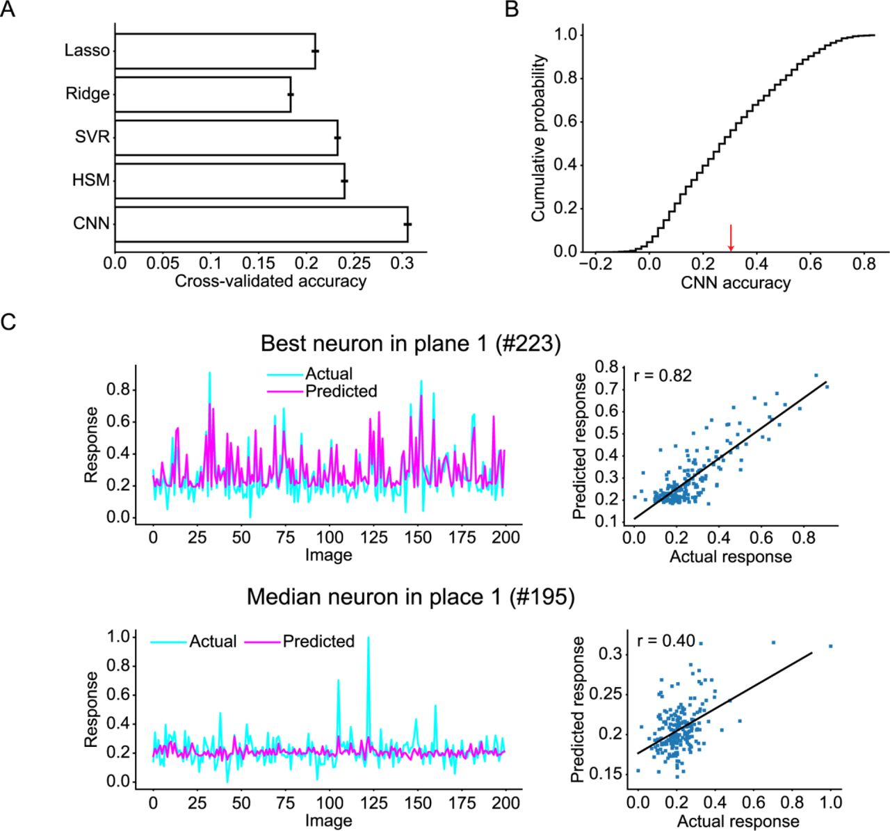 Characterization of nonlinear receptive fields of visual