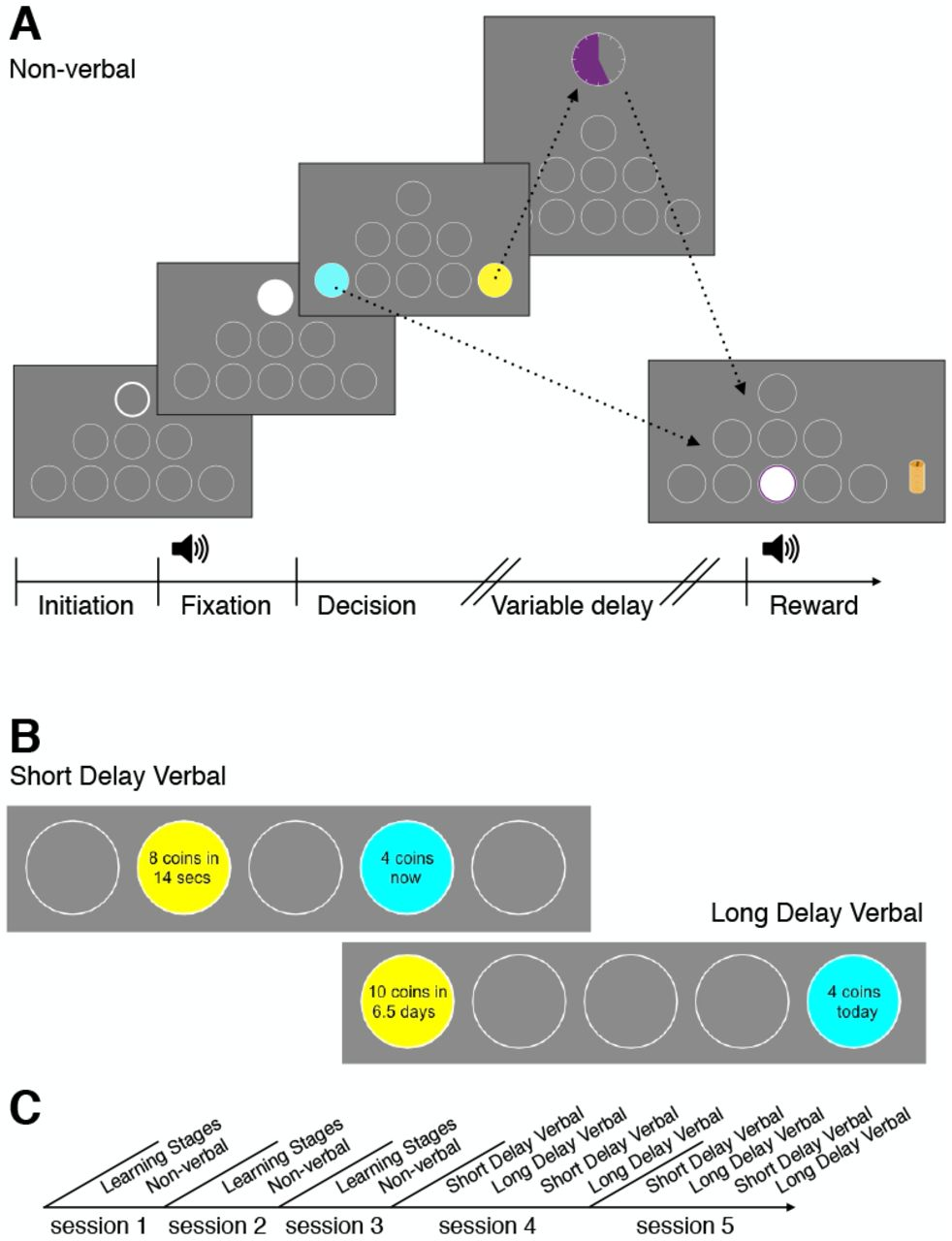 Time preferences are reliable across time-horizons and verbal vs