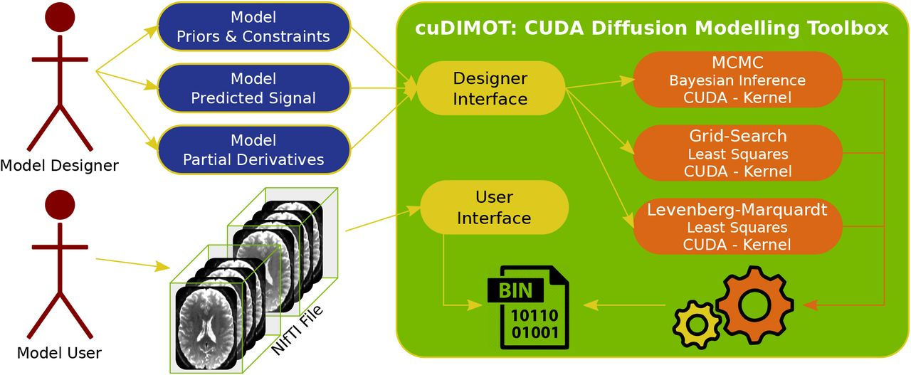 Using GPUs to accelerate computational diffusion MRI: From