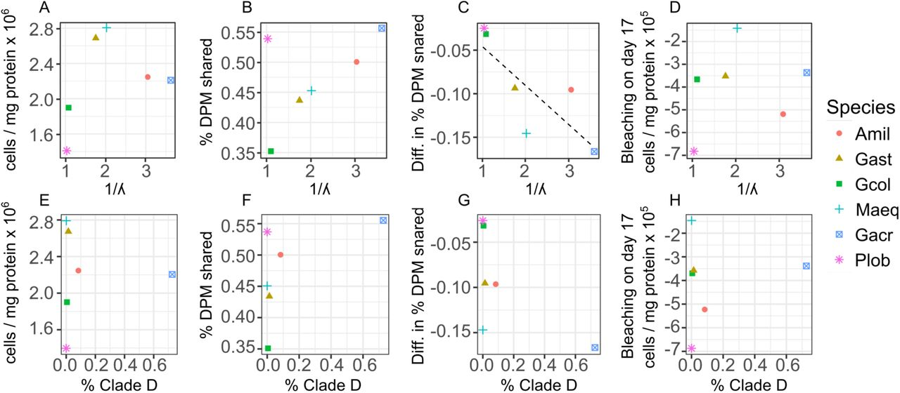 Exploring mechanisms that affect coral cooperation: symbiont