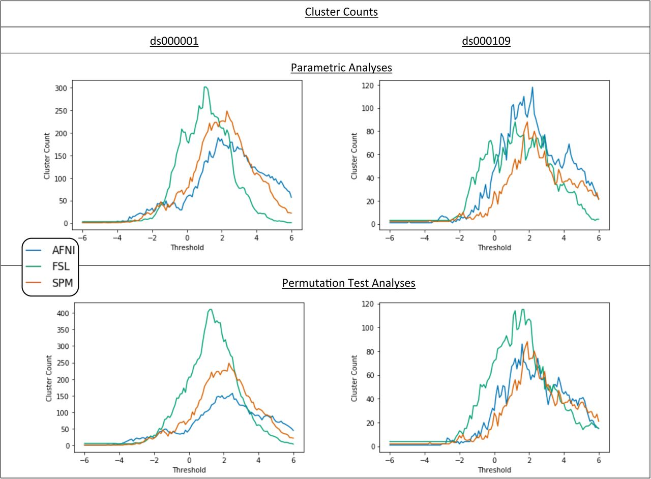 Exploring the Impact of Analysis Software on Task fMRI