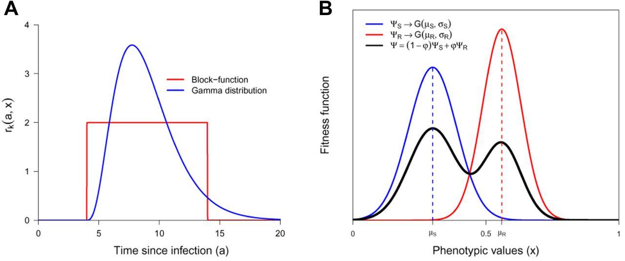 Evolution of pathogen traits in response to quantitative