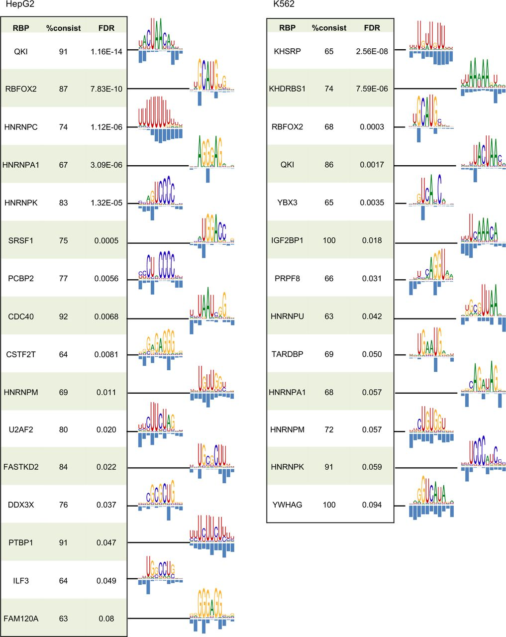Modeling RNA-binding protein specificity in vivo by