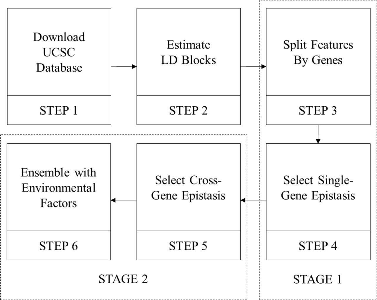 GenEpi: Gene-based Epistasis Discovery Using Machine Learning | bioRxiv