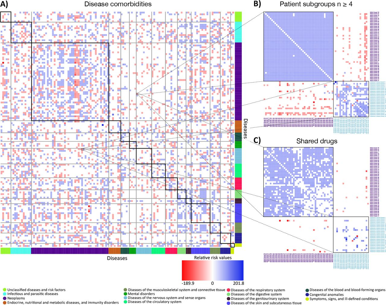 Unveiling the molecular basis of disease co-occurrence