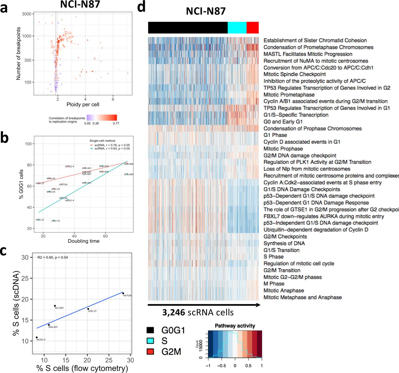 Joint single cell DNA-Seq and RNA-Seq of gastric cancer