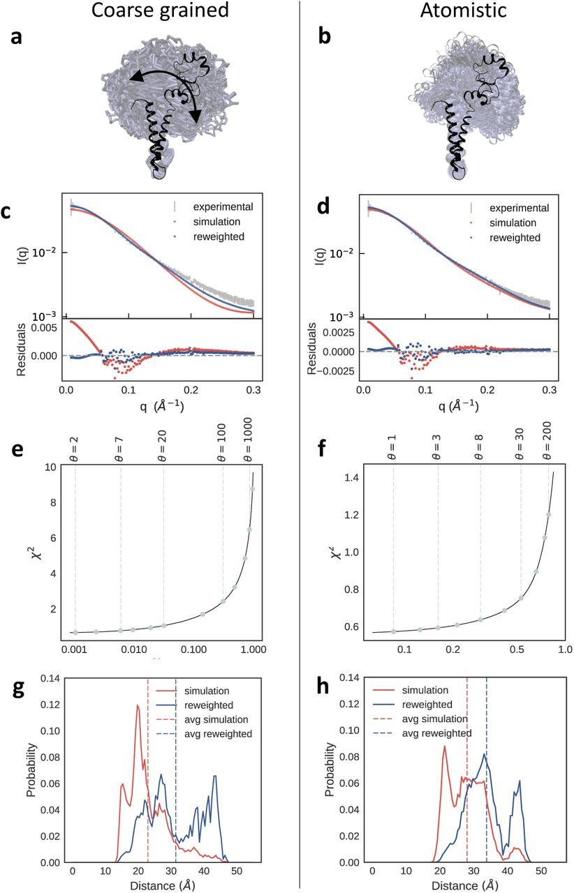Integrating Molecular Simulation and Experimental Data: A