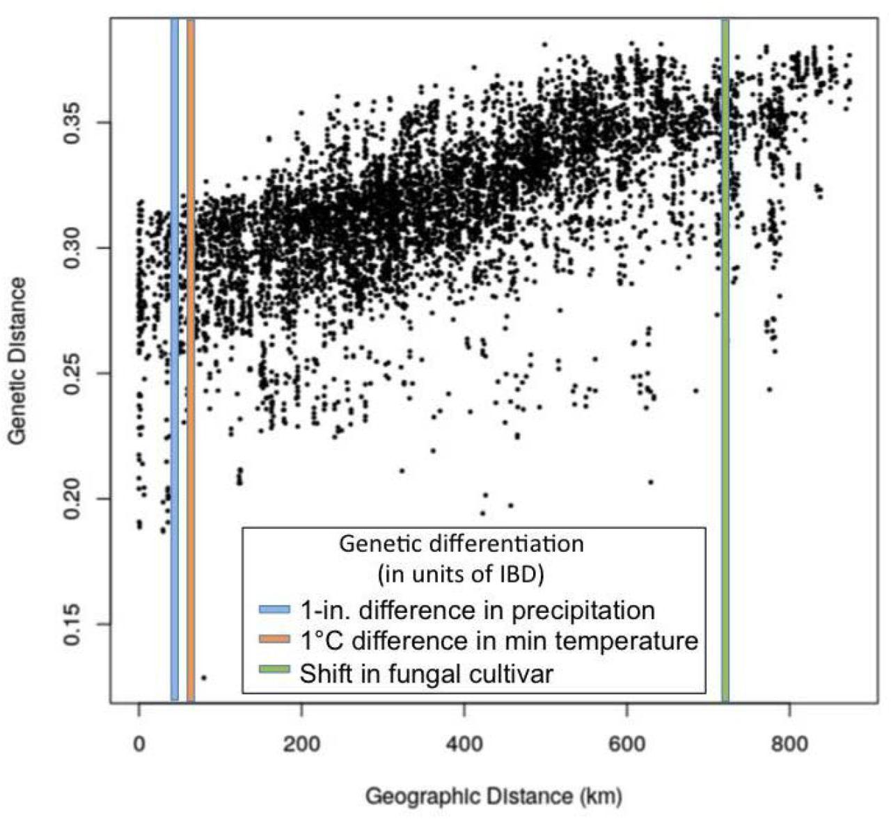 Landscape genomics of an obligate mutualism: discordant population