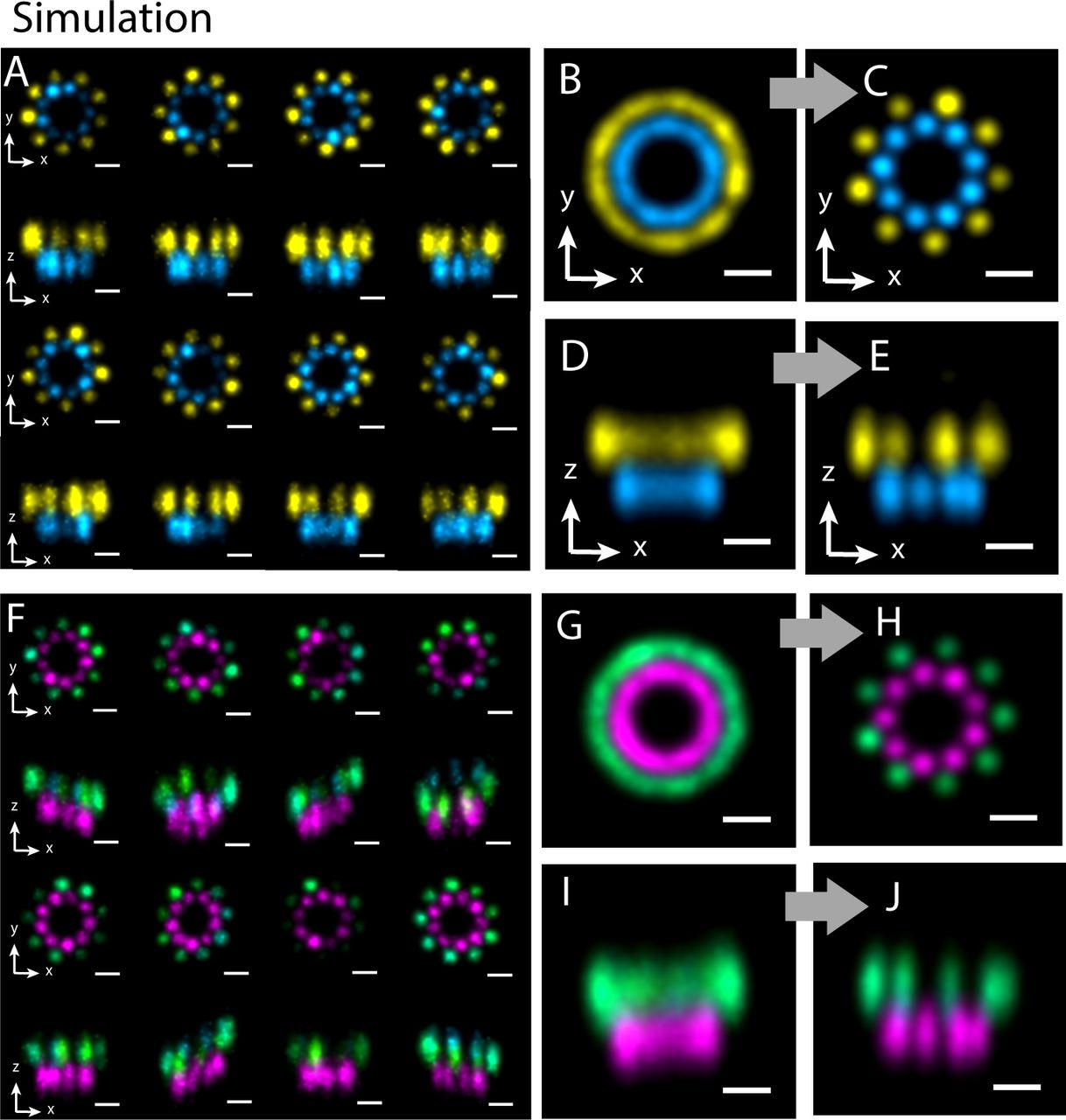 Deformed Alignment of Super-Resolution Images for Semi