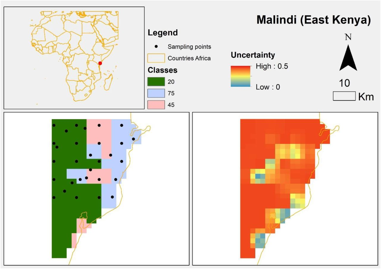 Improved spatial ecological sampling using open data and