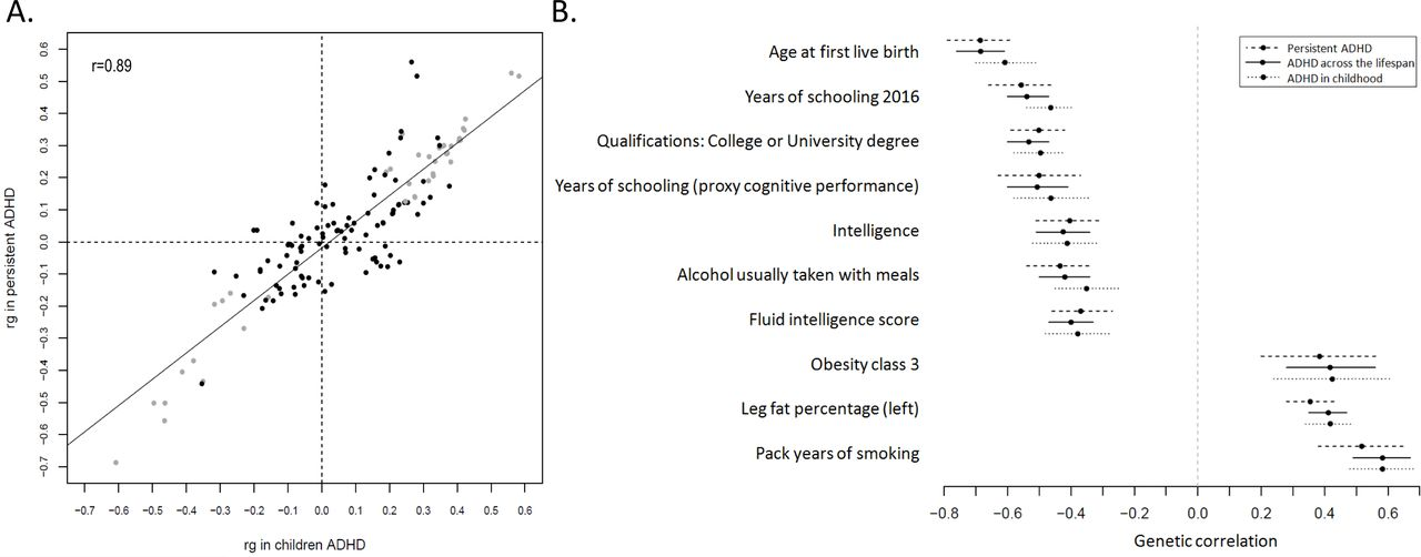 Adhd Evaluations Driven Mainly By >> Shared Genetic Background Between Children And Adults With Attention