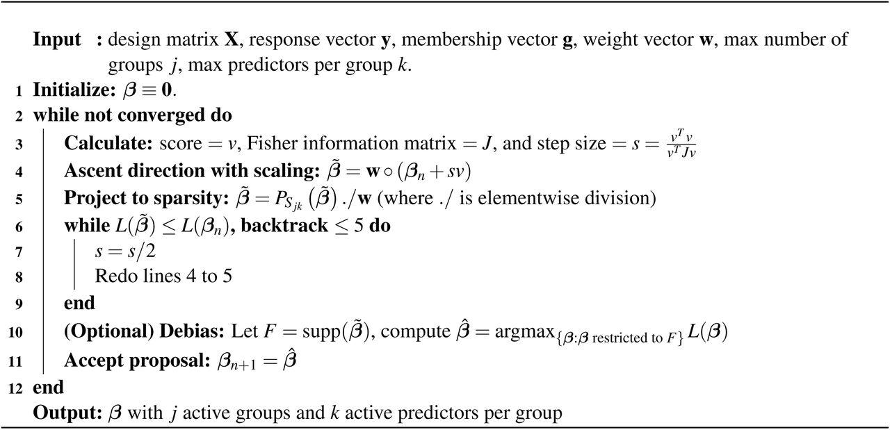 Multivariate GWAS: Generalized Linear Models, Prior Weights