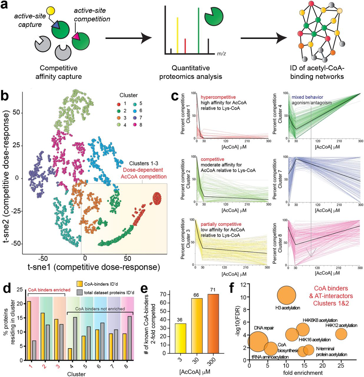 A systems chemoproteomic analysis of acyl-CoA/protein