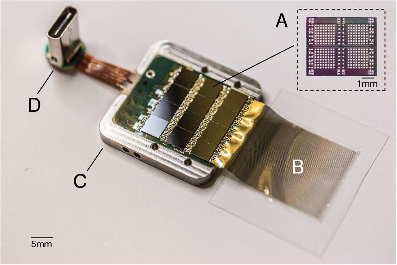 An integrated brain-machine interface platform with