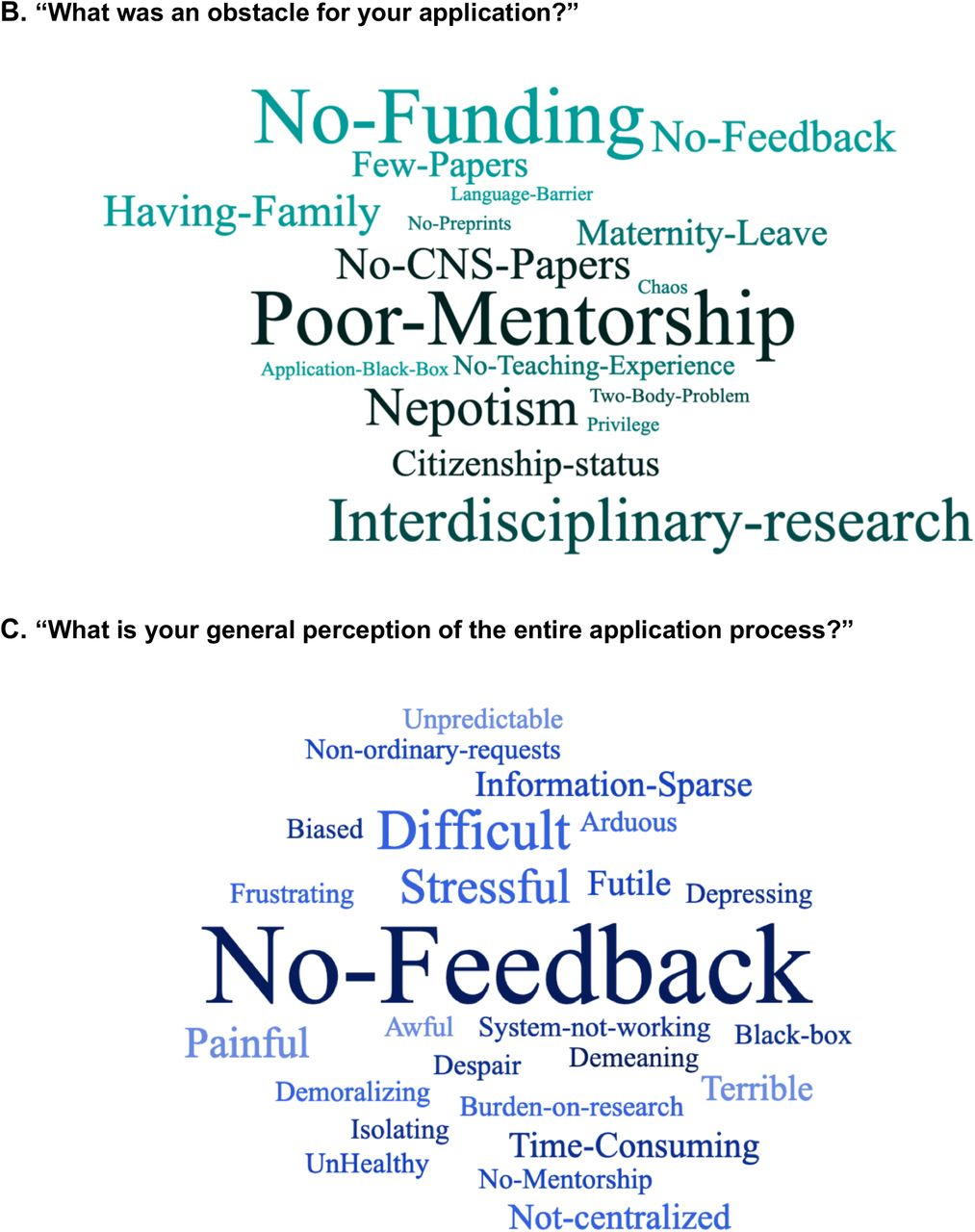 Insights From A Survey Based Analysis Of The Academic Job