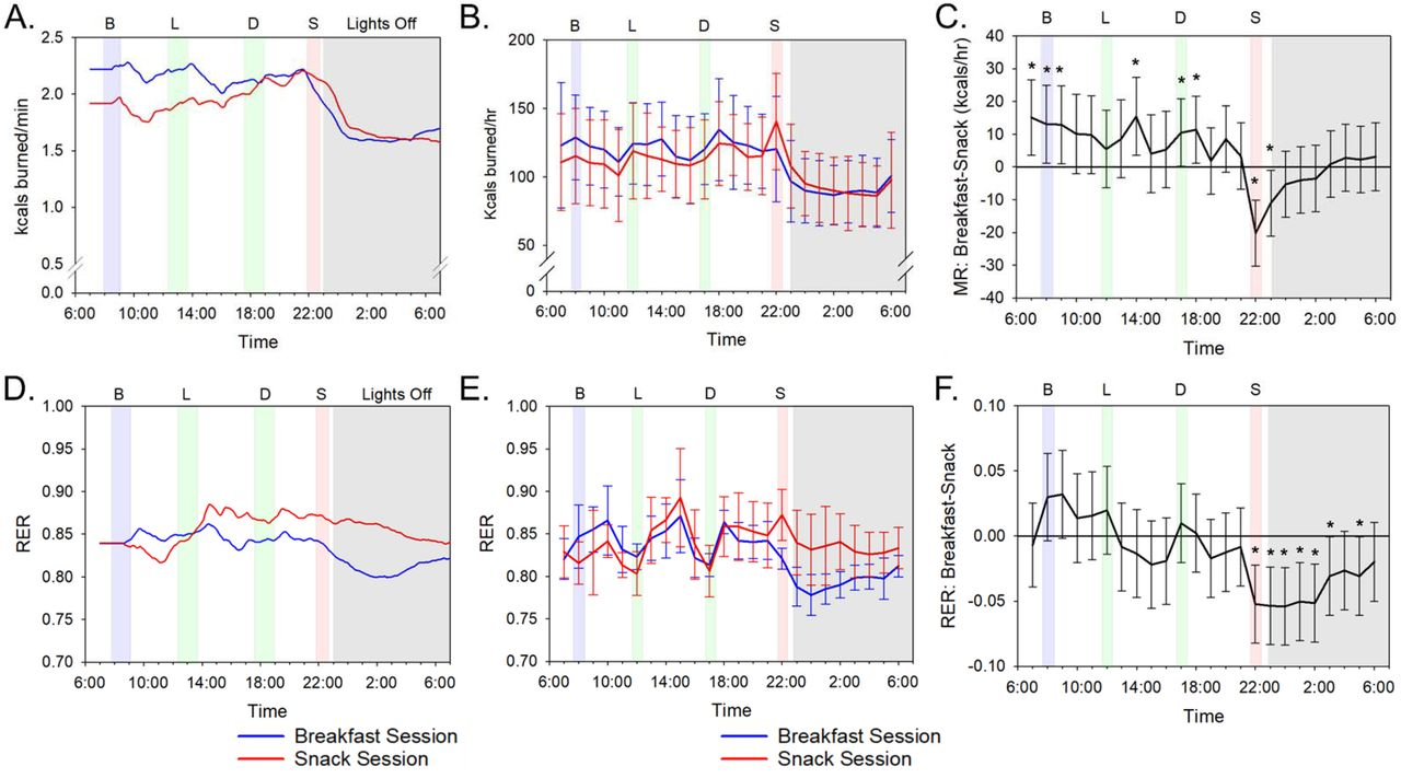 Eating breakfast and avoiding the evening snack sustains lipid oxidation |  bioRxiv